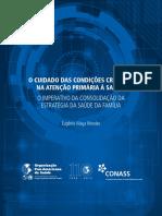 CONASS - O Cuidado das Condições Crônicas na Atenção Primária à Saúde - O Imperativo da Consolidação da Estratégia da Saúde da Família