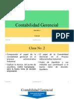 Clase No. 2 CG2018