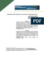 A_FORMACAO_SOCIAL_BRASILEIRA_LUTAS_SOCIAIS_E_PARTICIPACAO_SOCIAL