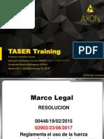 TASER X-2  Instructors course Version 20.2 -2018