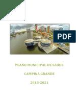 Plano Municipal de Saúde - 2018 2021 CAMPINA GRANDE