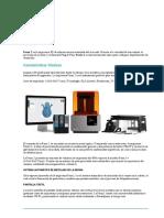 impresora 3DZ Formlabs presentacion y precios español.docx