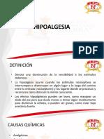 Hipoalgesias