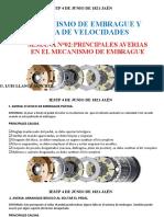 SEMANA N°02 PRINCIPALES PROBLEMAS EN EL MECANISMO DE EMBRAGUE Y CAJA DE VELOCIDADES.pptx