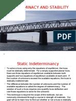 Static determinancy
