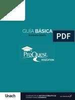 Guía de uso PROQUEST básica