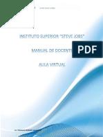 MANUAL DE DOCENTE aula virtual