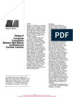 Design of Composite Connections Between Steel Beams and Reinforced Concrete Columns - Gregory G Deierlein - Journal.pdf
