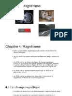 Chapitre 4 électricité et magnétisme