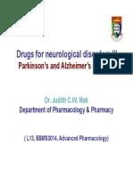 Dementia and Parkinson