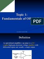 Topic 1 - Fundamentals and Comparators.ppt