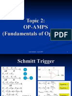 Topic 2 - Schmitt and Window Comparator.ppt