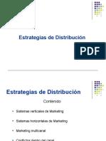 UII ESTRATEGIAS DE DISTRIBUCIÓN
