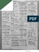 Physics Formulae