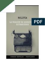 Carvalho, Homero (Comp.) - Bolivia. La Version de Escritores Extranjeros