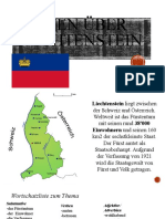 Fakten über Liechtenstein