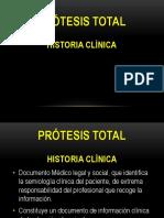 1.- Historia Clinica PT