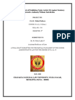 ADMINISTRATIVE LAW FINAL DRAFT 6TH SEM