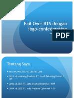 Failover Bts Ibgp Confederation