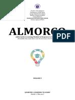 ALMORCO English 9