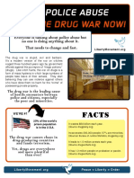 Anti-Drug War Flier