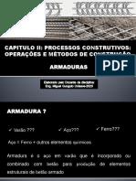 AULA - Armaduras