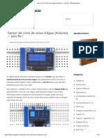 Sensor de nível de caixa d'água (Arduino) - sem fio ! - Blog Eletrogate