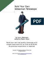 Como Hacer Un Telescopio Dobsoniano