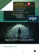 Régimen MYPE Tributario (RMT)