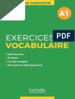En Contexte - Exercices de Vocabulaire A1