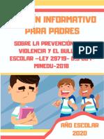 boletin bullying  para padres  2020