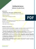 Antibacterianos - Resumo