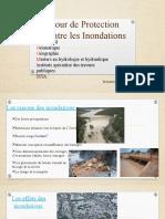 cour de protection contre les inondations