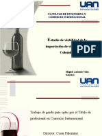 PRESENTACION FINAL importacion vinos chilenos