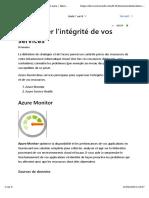 6-Appliquer et superviser les standards d'infrastructure avec Azure Policy-Superviser l'intégrité de vos services