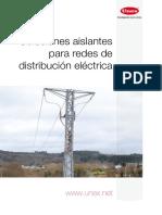 Soluciones aislantes para redes de distribución eléctrica