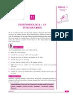 Immunobiology NIOS