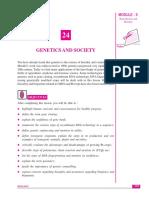 (NIOS) Genetics and Society