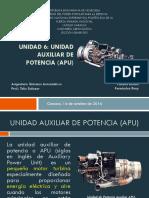 Unidad 6. Unidad de Potencia Auxiliar (APU)