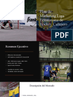 Hockey Ecuador Plan de Marketing