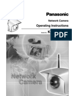 Manual Panasonic KX HCM270