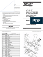 Placa Vibratória - LF81H COM RODAS
