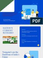 Blue and White Illustrative Technology Startup Pitch Deck Responsive Presentation