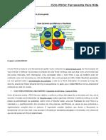 CICLO PDCA - FERRAMENTA PARA VIDA