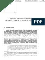 Diplomacia Reformista Y Virreinato De Nueva Granada