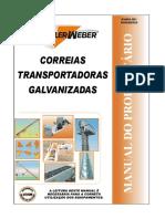 CORREIAS TRANSPORTADORAS GALVANIZADAS