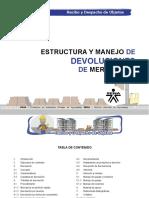 ESTRUCTURA Y MANEJO DE DEVOLUCIONES DE MERCANCIA