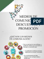MEDIOS DE COMUNICACION- DESCUENTOS Y PROMOCION