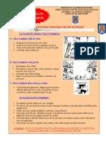Afis - Comportament în caz de cutremur pentru elevii din unităţi de învăţământ