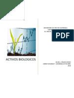 ACTIVOS BIOLOGICOS